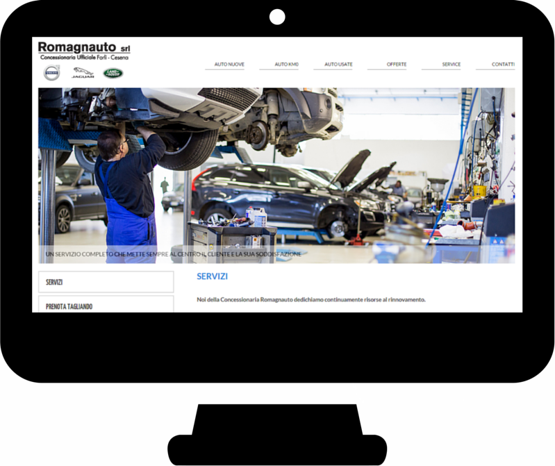 romagnauto-website-screenshot